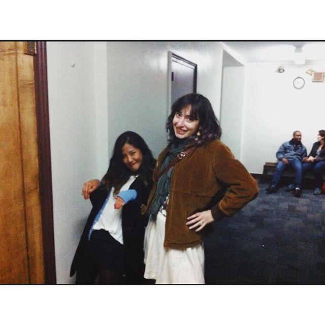 Happy birthday @rebeccafelicezola! Eeeeeeee! Here's a pic of us freshman year in MSM Lololol bless