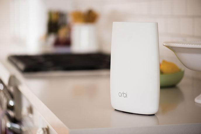 Qualcomm  No more dead zones in the home: meet the NETGEAR Orbi Wi-Fi System