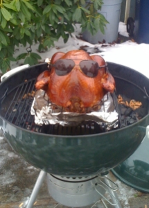 The smoked turkey