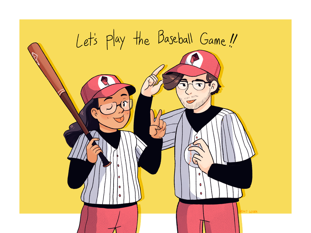 Let's Play the Baseball Game!  Digital 2017