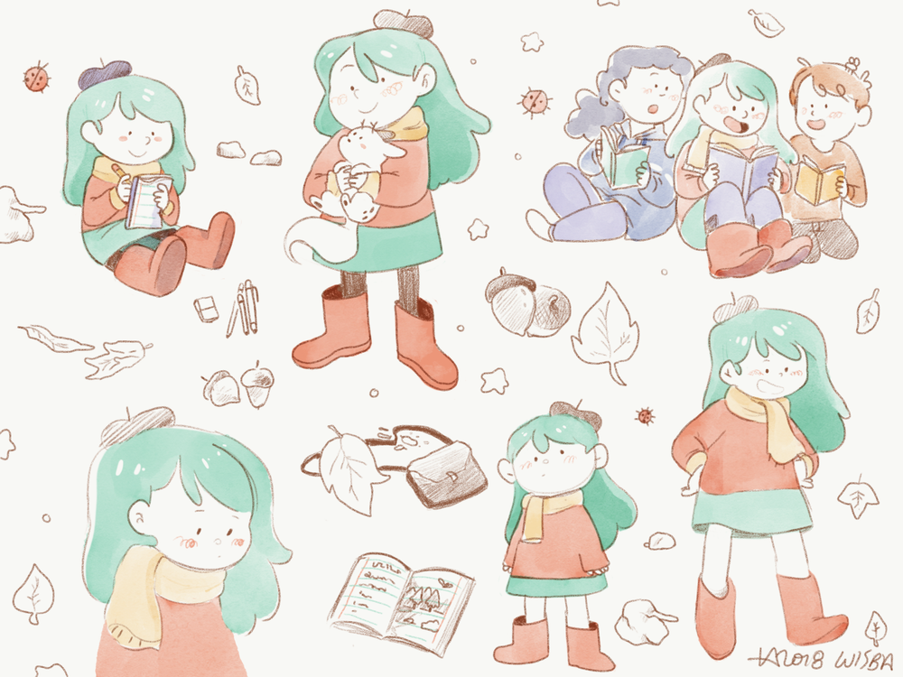 Hilda Sketches - 2018