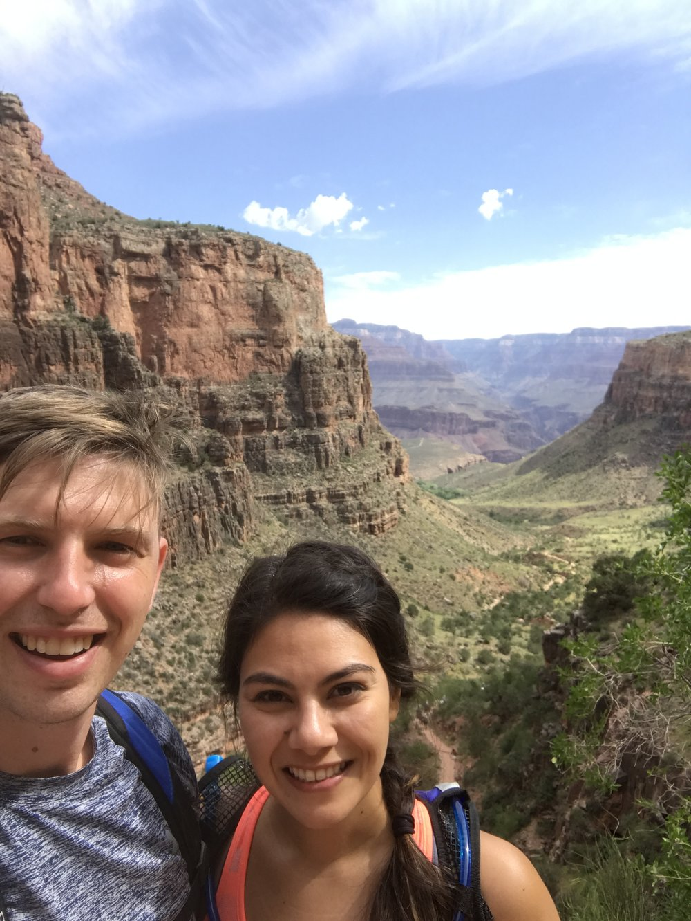 - Hiking the Grand Canyon with Kristina