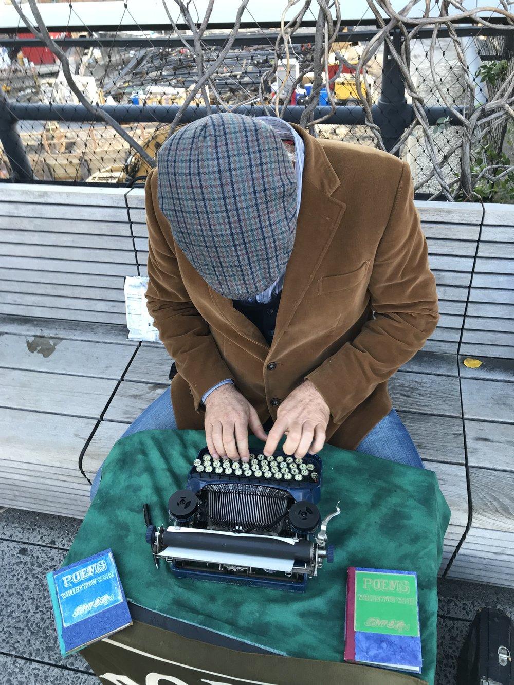 Bill Keys, the poem guy.