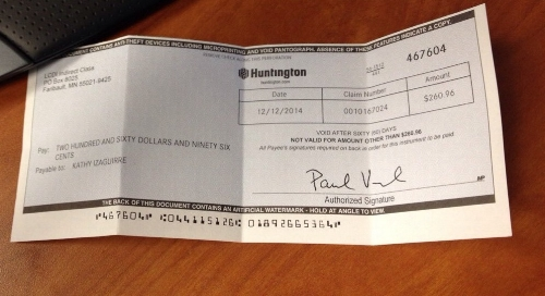 Check from the holy spirit! :)