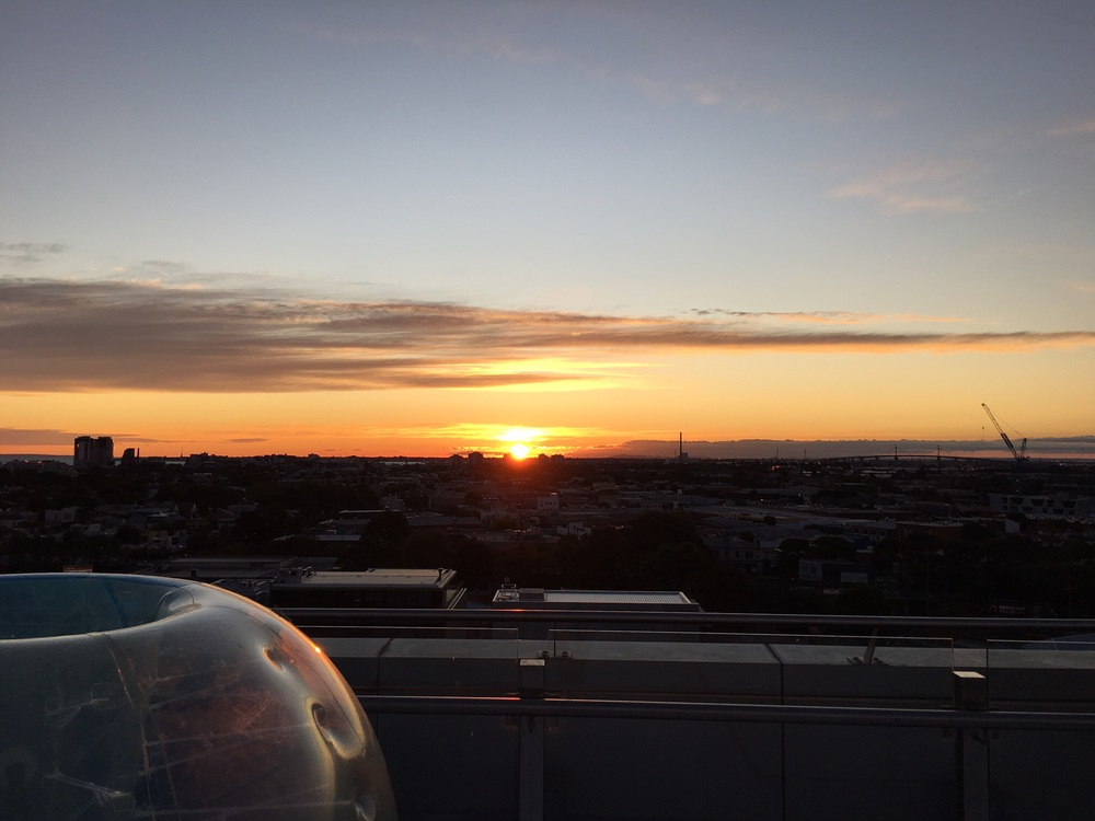 Bubbles and Sunset - Luminare South Melbourne