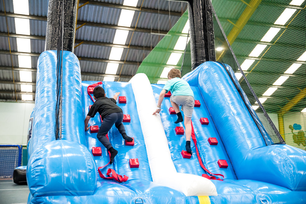 Inflatable Sports Park<strong>Interactive Sports Inflatables</strong>