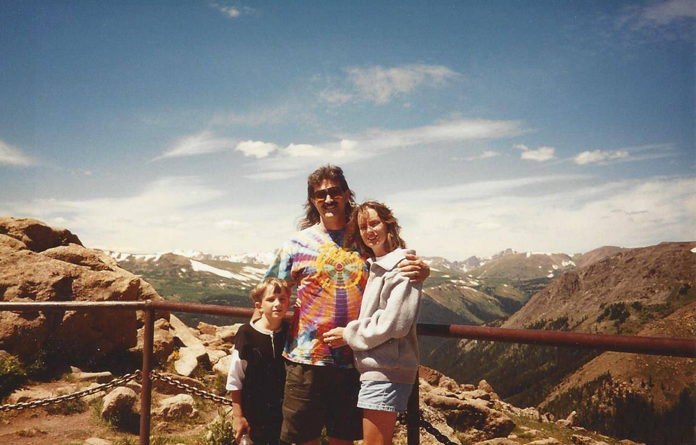 Rocky Mountain National Park in 1995...with Mom and Dad.