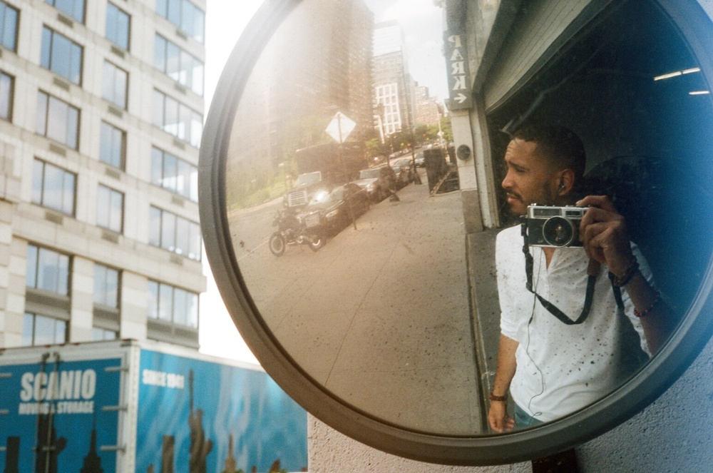 Upper West Side, Self Portrait, Summer 2014