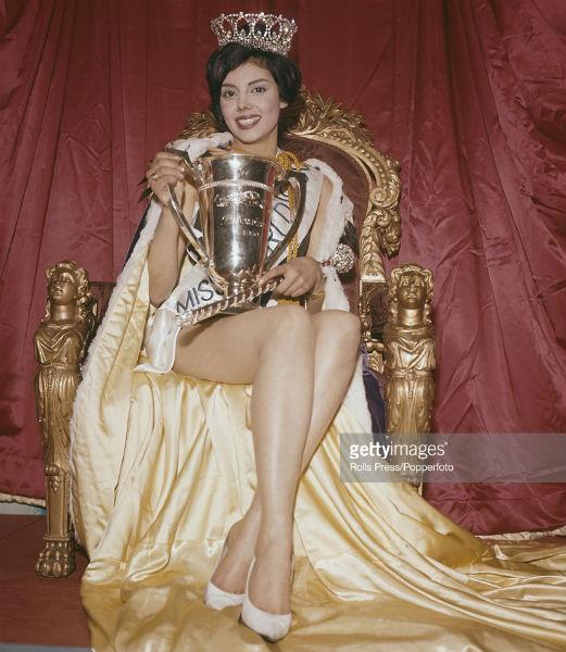 A Argentina onaugurou os anos 1960 vencendo o Miss Mundo com Norma Gladys Cappagli.