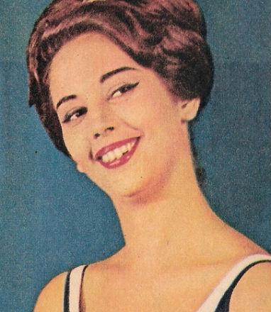 """Vera Lúcia Saba conquistou o """"bi"""" para a Guanabara no Miss Mundo."""