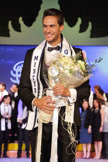 Tomas Martinko da Rep. Tcheca venceu o Mister Global 2016.