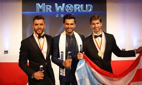 México (3),Índia (Mister Mundo 2016) e Porto Rico (2). Cortesia MrWorld.tv