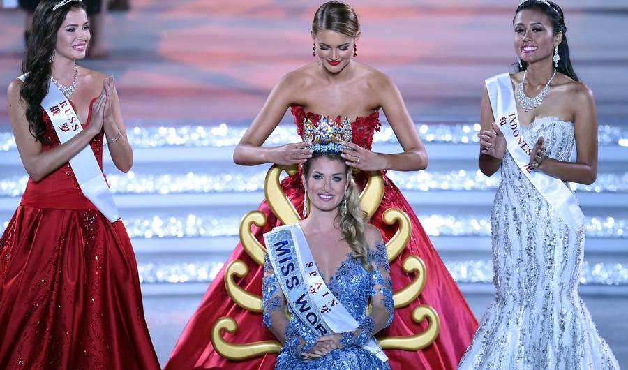 Em 2015 a espanhola Mireia Lalaguna foi eleita Miss World. Quem será a sua sucessora? Você ficará sabendo no dia 18 de dezembro, em evento transmitido ao vivo pela Rede Brasil (foto MWO)