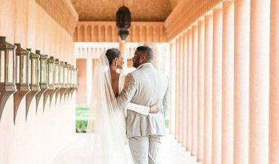 """Darego disse """"sim"""" e passou de """"miss"""" a """"misses"""". O casamento aconteceu no Marrocos."""