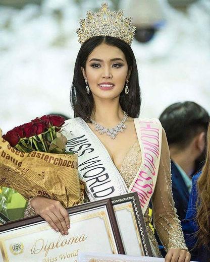 """O exótico Quirguistão, que faz parte da """"Rota da Sede"""", estará presente no Miss World 2017 com uma forte candidata."""