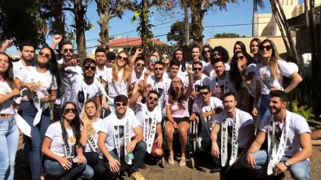 Beleza pelo Bem: Ju e os candidatos a Miss e Mister Goiás CNB 2017: sucesso total com todos os ingressos vendidos!