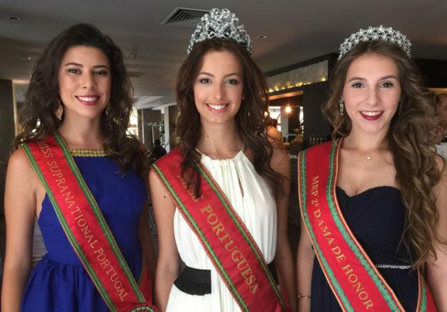 """A """"realeza"""" da beleza portuguesa julgará de forma absolutamente isenta o talento das mais belas do Brasil em 2017: Linda Cardoso, Cristiana Viana e Diana Sofia."""