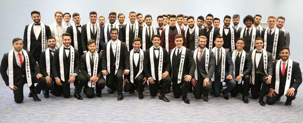 Os mais belos do Brasil: os 42 candidatos ao título de Mister Brasil CNB 2017 (foto Leonardo Rodrigues).