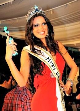 Kamilla Salgado encheu o Pará de orgulho ao ser coroada Miss Mundo Brasil 2010.