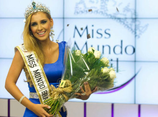 Mariana Notarângelo: Miss Mundo Brasil e finalista do Miss Mundo 2012 (foto Fernando Scherer)