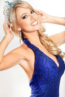 Sancler Frantz representou a Ilha dos Lobos (RS) e venceu o Miss Brasil World 2013.
