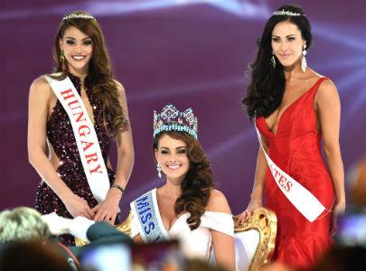 A favoritíssima Rolene Strauss venceu o Miss Mundo 2014, em Londres. Hungria foi vice e Estados Unidos terceira.