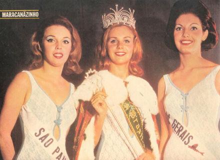 São Paulo foi ao Miss Internacional, Guanabara ao Miss Universo, e Berenice, de Minas (dir), ao Miss Mundo.