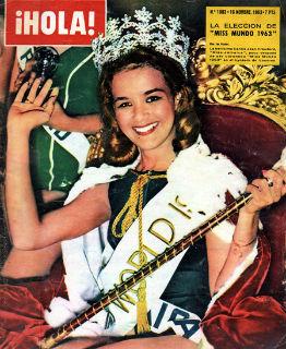 Carol Joan Crawford fez história: foi a primeira mulata a ser eleita Miss Mundo.