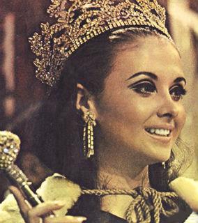 Madeleine, a belíssima peruana eleita Miss Mundo 1968.