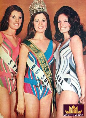 No Miss Brasil, Ângela foi vice e garantiu participação no Miss Mundo. A gaúcha Rejane foi ao Miss Universo e ficou em segundo lugar.