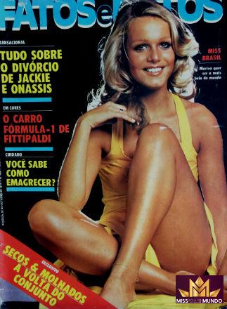 Brasília tinha a sua primeira Miss Brasil Mundo: Mariza foi semifinalista em Londres.