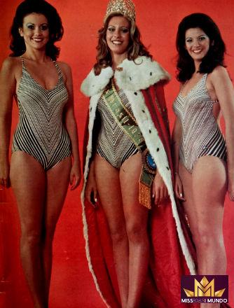 Top 3 de 1975: RJ (2), SP (1) e Brasília (3 e Miss Brasil Mundo).