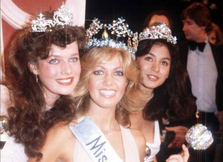 O Top 3 original: França (3), Alemanha (Miss Mundo eleita que renunciou depois de 17 horas), Guam (originalmente a segunda colocada, acabou com a coroa).