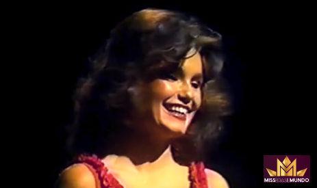 Mais uma paulista obteve destaque no Miss Mundo: Maristela foi a quarta colocada em 1981.