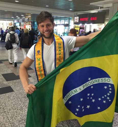 Dos Pampas a Bangkok: Fin, que já foi obeso e quase se tornou padre, encarará a passarela do Manhunt em busca de título inédito para o Brasil.