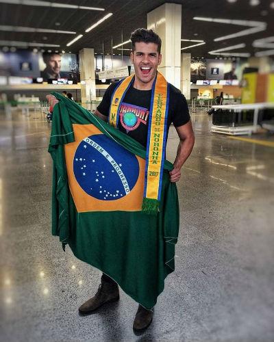 Jácome leva o nome de Fernando de Noronha para a Tailândia, onde brigará pelo título de Manhunt International.