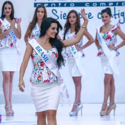 Sendy irradiou alegria e beleza 100% brasileira em Monteria, conquistando os corações dos colombianos.