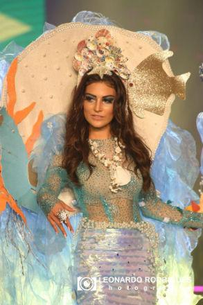 Caroline Venturini encantou até aos mais céticos com a sua participação impecável no Miss Grand: semi-finalista.