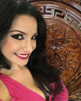 Atriz, modelo e Miss Brasil Mundo 2014 Julia Gama.