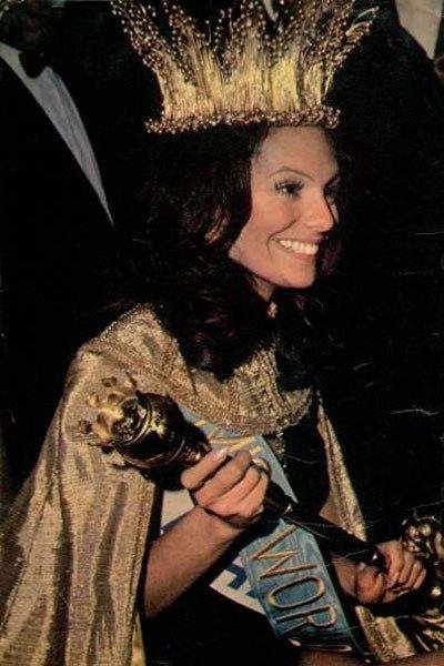 Em 1971 o Brasil venceu o Miss Mundo pela primeira e única vez em 60 anos de história com Lucia Petterle.