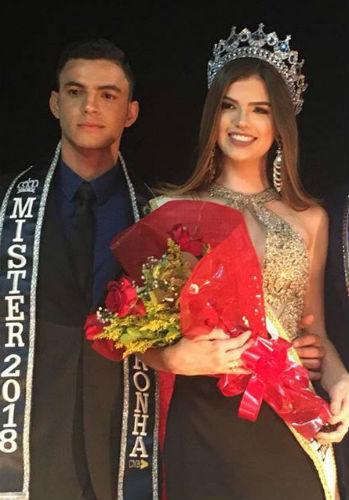Na mesma noite foi aclamada também a Miss Pernambuco CNB 2018, Tallita Martins (foto APAE Serra Talhada)