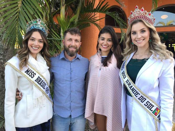 Raul Maggi, diretor financeiro do Miss Rio Grande do Sul CNB, entre as mais belas do Brasil e do Rio Grande do Sul.