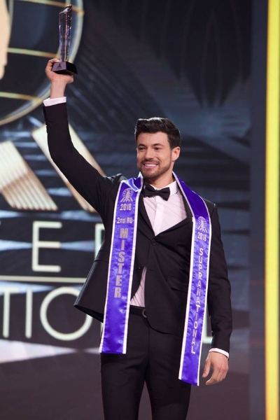 Samuel Costa do Brasil: terceiro lugar no Mister Supranational 2018! (foto Milton Mieloch)