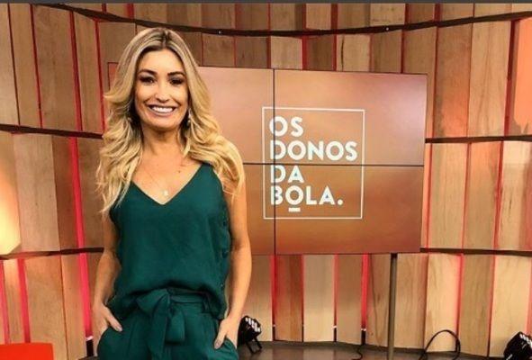 A linda e talentosa apresentadora de tv e jornalista Cris Barth.