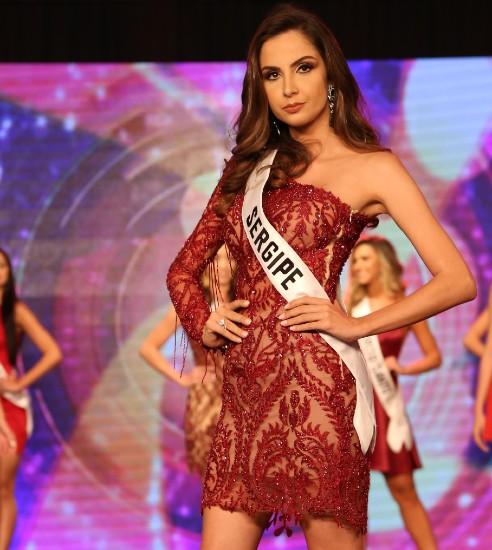 Gabriela Matos, semifinalista no disputadíssimo Miss Grand Brasil 2019, apresentará a final do Mister Sergipe CNB 2019. Foto: Leonardo Rodrigues.