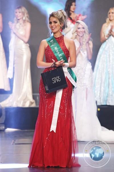 Tainá Laydner Fiore, Miss Eco Brasil 2019, foi eleita Miss Eco América Latina 2019 (foto Leonardo Rodrigues / Global Beauties).