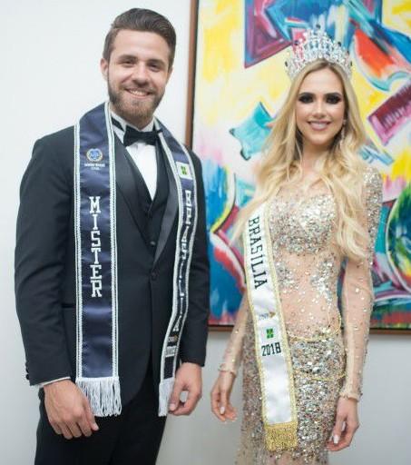 """Jesus e Isabela fizeram história em 2018: participaram do tour """"Beauty With a Purpose"""" no Brasil, com a presença da Miss Mundo 2017 Manushi Chhillar."""
