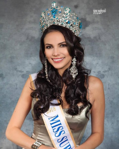 Miss Supranational Valeria Vazquez por @sano_wahyudi!.