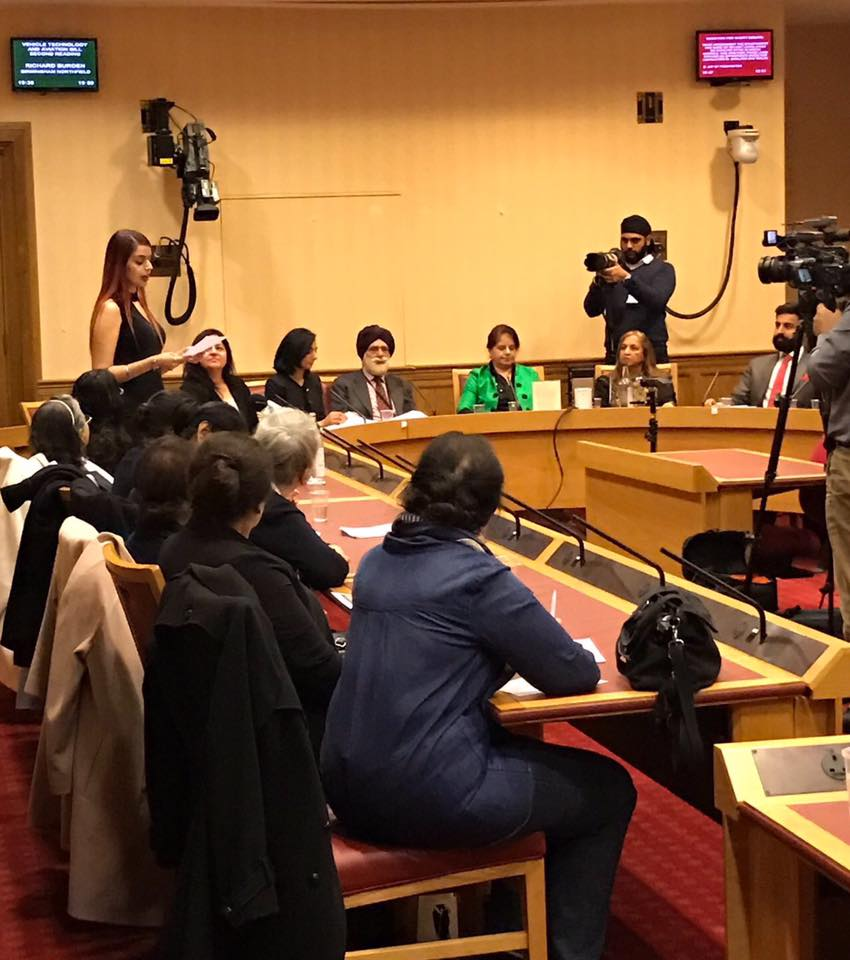 ‪Honoured to discuss the importance of women's voices at the House of Lords with  BILLION WOMEN in celebration of  #IWD2017 ‬ ‪ Since the beginning of time, women's voices have been suppressed across the world. And only now, after generations of protest and struggle have women's voices started to be heard. But for women of colour, the struggle for a voice has been even more difficult. Women still get ignored. Women still get talked over. Women who speak up are often penalized, labeled pushy, or bossy, or a b*tch. So, it's up to us as women to help create spaces so that women can share their voice. We need women helping women, and encouraging each others voices. I recognize that I am in a position of privilege in the sense that people now want to listen to my poetry and my voice, and I also recognize that they used to burn women like me and my voice. But even still, I face challenges and boundaries when voicing my thoughts, especially when talking about taboo subjects in our community that people still wish to keep brushed under the carpet.   Those that can have their voices heard have the responsibility to share the stories of those that are still voiceless. I think of our immigrant mothers who didn't have a voice, I think about the unborn or abandoned daughters, I think about the women in countries where women are still killed for having a voice. I do not believe that we have to shout to be heard. But we do have to find our voices, use them clearly, choose our venues, and construct our messages so we may inspire positive change.
