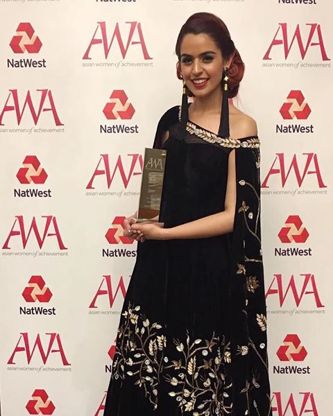 Behind the Netra won the Asian Women of Achievement Awards 2017!